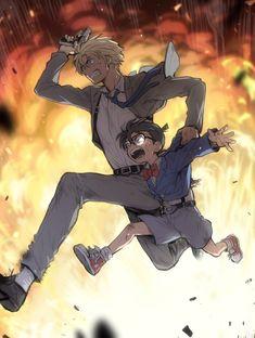 Run! // Conan and Amuro-san // Detective Conan