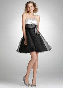 Prom dress *davids bridal