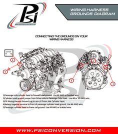 wwwpsiconversion  engine harness     ls1    swap  nv4500  th400  4l80e  t56     wire    harness  4l60e