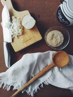 Io Healthy Kitchen: Salada de quinoa, tomate cherry e romã
