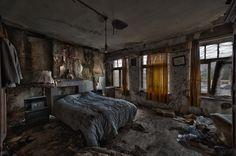 Vanneste's bedroom by CyrnicUrbex.deviantart.com on @deviantART