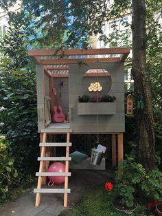 DIY: Süßes Spielhaus Pri – Haus How to Crafts - Kids playhouse