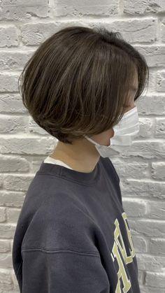 Japanese Short Hair, Asian Short Hair, Korean Short Hairstyle, Tomboy Hairstyles, Hairstyles Haircuts, Tomboy Haircut, Short Hair With Layers, Short Hair Cuts, Short Bob Hair
