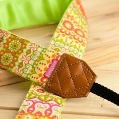 Camera Strap  Catalina in Yellow for DSLR and by lunaviz on Etsy, $25.00
