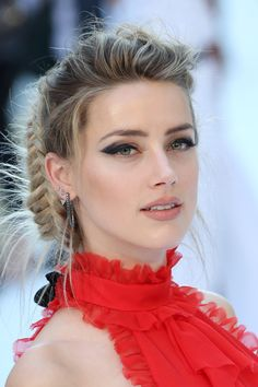 amber heard magic mike xxl london smoky eye