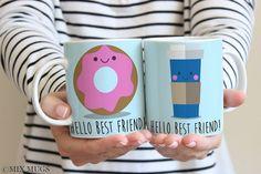 Best Friend Mugs Funny Best Friend Mugs Best Friend Gifts Friendship Mugs Mug Set Mugs for Friends Gifts for Friends Friendship Gift (a3211)