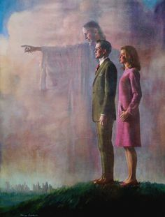 H10a// Harry Anderson Painting// He was a 7th Day Adventist painter.....