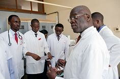 Medical education in sub-Saharan is being revitalized and expanded through a U.-funded effort that is dramatically increasing enrollment, broadening curricula, upgrading Internet access and providing cutting-edge skills labs and other technologies. Public Health, Labs, Curriculum, Effort, Health Care, Internet, African, Medical, Social Media