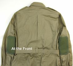 Perfect Winter Coat: Sleeve trap and extra material thingy in center of back panel.