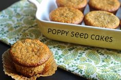 Poppy Seed Cakes | Bob's Red Mill #lifeasmom