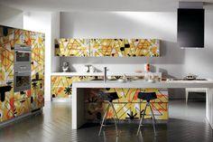 Editora Globo Karim Rashid na cozinha , feita em parceria com a marca italiana Scavolini