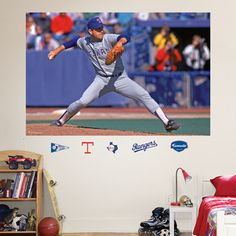 Nolan Ryan, Texas Rangers Mural