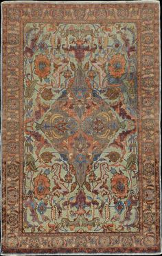 Turkish Hereke rug, late 19th c