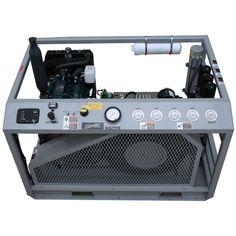 Nuvair MCH36D Kubota Open Frame High Pressure Compressor