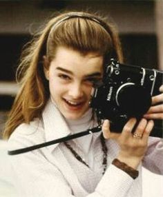 Photo of Brooke for fans of Brooke Shields 825005 Richard Avedon, Pretty Baby 1978, Brooke Shields Young, Girls With Cameras, The Danish Girl, Toms, Helen Mirren, Female Photographers, British Actresses