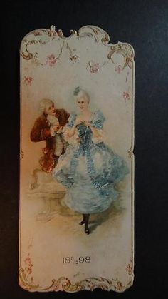 Scarce antique 1898 victorian dance card program jewish czech academi…