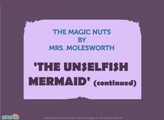 The Unselfish Mermaid – Part 2 - #StoriesforKids. For more interesting  #stories, visit: http://mocomi.com/fun/stories/