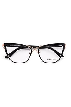 Tom Ford Eyewear Cat's Eye Eyeglasses, $495 :: wonder what these would actually look like on