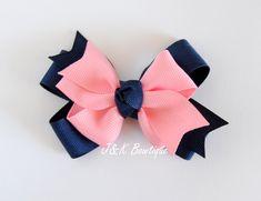 """100 Girl 3.5/"""" Rainbow Fairy Hair Bow Clip Valentine Easter Crown Love Star Baby"""