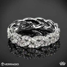 Love this! For the days you don't want to wear the engagement ring!