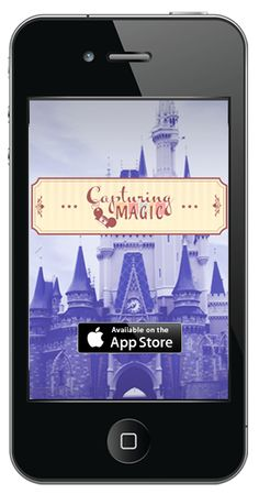 Capturing Magic iPhone apps for Disneyland and Walt Disney World. Helps you document, take pictures, and capturing the magic of your vacation.  CapturingMagic.me