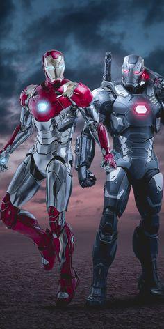 imposing wallpaper War Machine and Iron man marvel superheroes art 10802160 wallpaper Marvel Dc, Marvel Comic Universe, Marvel Comics Art, Marvel Heroes, Marvel Characters, Iron Man Hd Wallpaper, Marvel Wallpaper, Star Wallpaper, Foto Batman