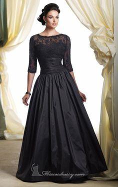 Classic Evening Mother of the Bride Groom Elegant Wedding Formal Gown Dress #Handmade #Formal