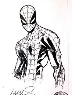 Spider Man by Humberto Ramos
