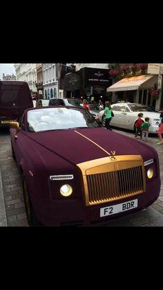 Gold and Burgundy Phantom