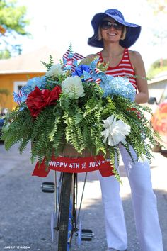 4th of July Bike Decorations