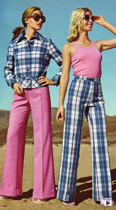 High waisted trousers 1973