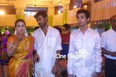 Dhanush With his Wife at Anirudh Sister Wedding Photos