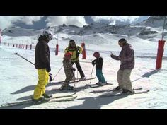 Le plaisir du ski de 7 à 77 ans... - Val Thorens