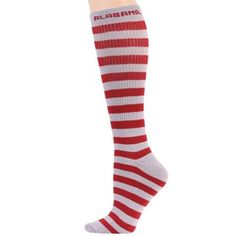 Alabama striped knee hi socks