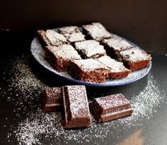 Basler Schoggitorf - Swiss Brownies - Who has invented them? Of course the Swiss! Yes it's true! The Swiss have invented the Brownies, they just called them differently. The people from the Canton of Basel called it Schoggitorf.