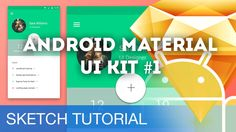 Ui Design Tutorial, Sketches Tutorial, Design Tutorials, Maisie Williams, Ui Kit, Android Material, Cool Sketches, Material Design