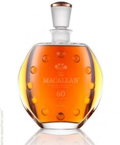 The Macallan in Lalique IV: 60 Years Old Single Malt Scotch Whisky ... USD 22K
