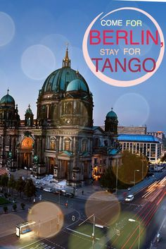 Berlin Tango - On any night in the week you can choose from several milongas all over the city. #TangoFashion, #TangoBerlin, #Tango