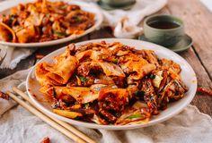 Spicy Cumin Lamb Biang Biang Noodles - The Woks of Life Lamb Sauce, Cumin Lamb, Marinated Lamb, Wok Of Life, Asian Recipes, Lamb Recipes, Chinese Recipes, Savoury Recipes, Savoury Dishes