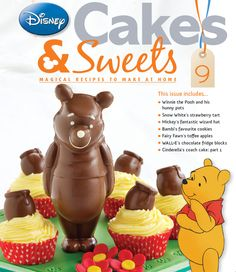 Winnie joins your baking repertoire in issue 9. #disneycakesandsweets