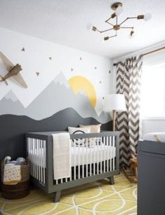 Kids Bedroom Wall Painting And Decoration Idea 121