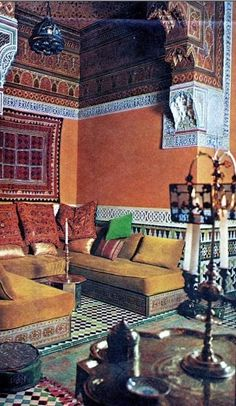 Talitha Getty's Moroccan Home