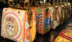 Dolce & Gabbana Fall Winter 2014: The bags - The Dolce Mosaic Collection was all about detail, no more so than in the bags.