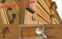 Kolekcja Hacienda - meble drewniane. Producent Made of Wood Group.
