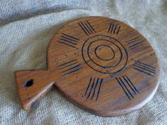Old Rustic Cutting Board Hand Carved Wooden Serving от Woodber