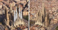 How Sagrada Familia Will Look in 2026 | Bored Panda