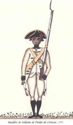 Batallón de Milicias de Pardos de Caracas 1785