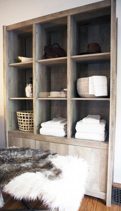 Rustic, tall, mysterious - OK, maybe not all of those things. But we dig this piece and so do many others! There's plenty of storage and goes great in many decor styles! Sauder Woodworking, Office Furniture, Stuff To Do, Decor Styles, Shelving, Bookcase, Interior Design, Living Room, Bedroom