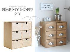 LOVE THIS! ★ nordahage - wohnen, kochen, selber machen: Pimp my MOPPE 2.0