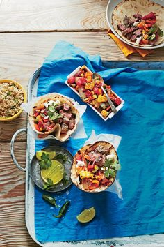 Cinco de Mayo Recipes: Steak Tacos with Charred Salsa
